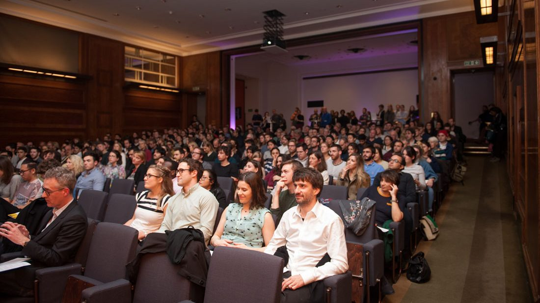 Waiting To Talk About Taste At RIBA 'Late Tuesday: Good Taste/Bad Taste' RIBA 27 October 2015 Image Credit: RIBA/MaxColson