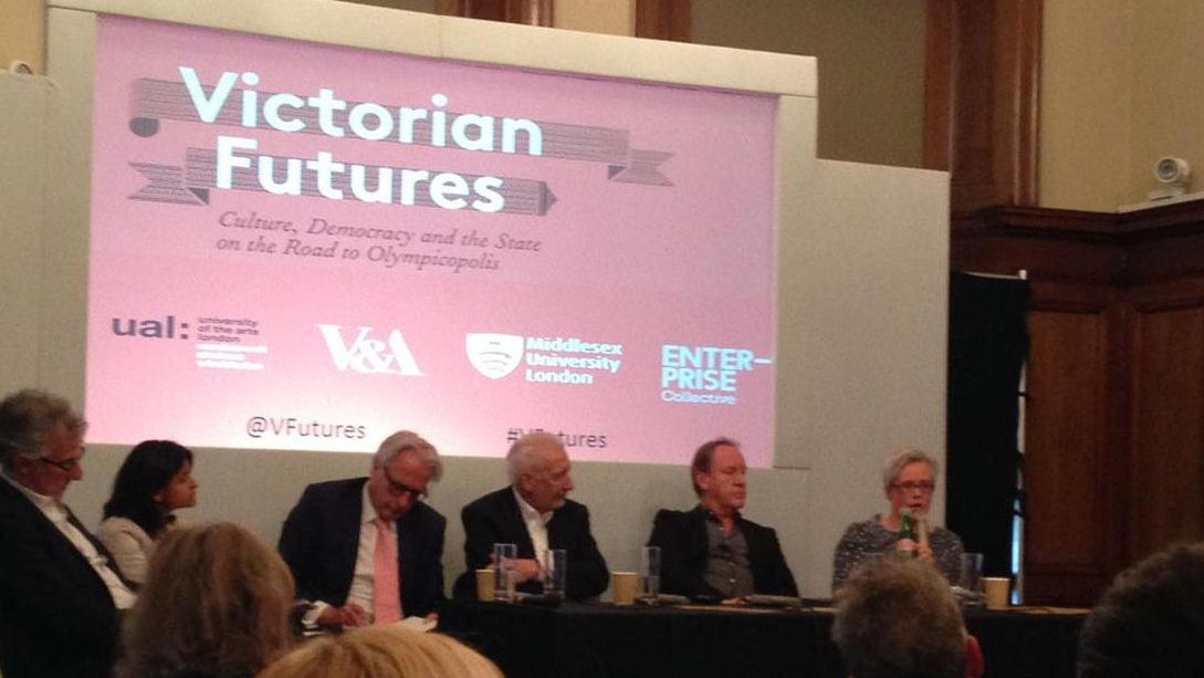 Closing Panel For 'Victorian Futures' Conference At Chelsea College Of Arts 14/15 May 2015