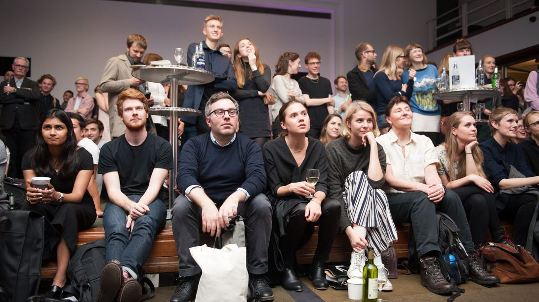Audience For 'Late Tuesday: Good Taste/Bad Taste' RIBA 27 October 2015 Image Credit: RIBA/MaxColson